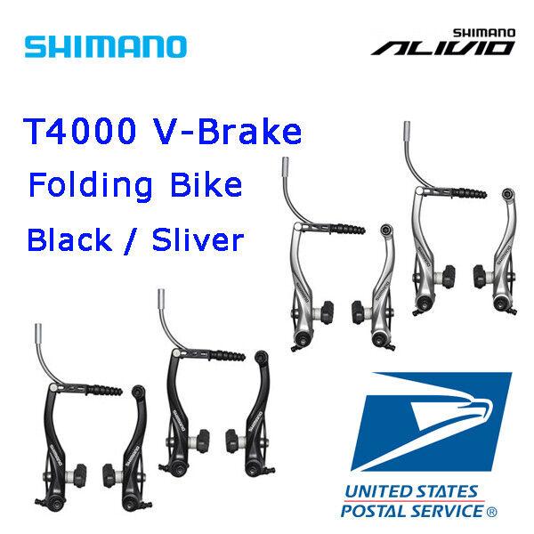 OE Shimano Alivio BR-T4000 V-Brake Caliper Trekking MTB Bike Front//Rear//Set