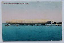 26989 AK Graf Zeppelin Luftschiff Landung vor Lindau auf dem Bodensee um 1930