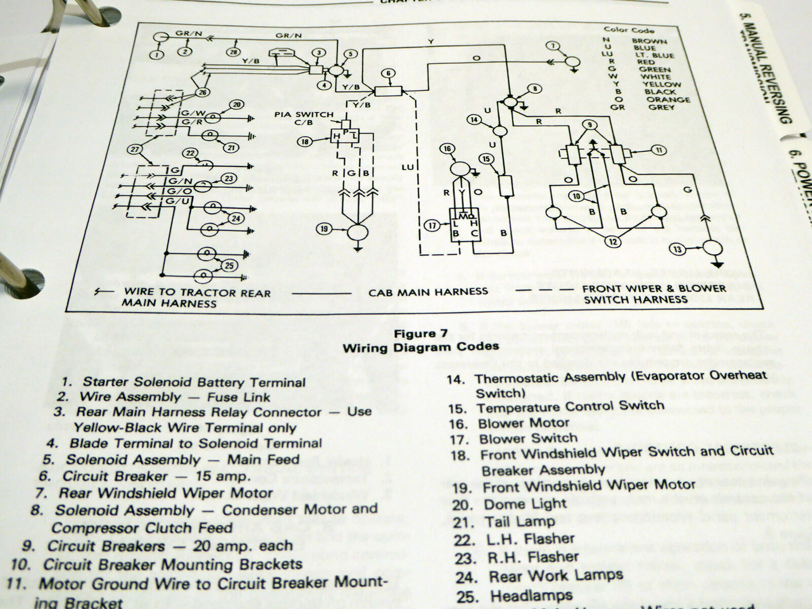 business & industrial ford 655a tractor loader backhoe operator operation &  maintenance book manual heavy equipment parts & accessories  cdc telecom