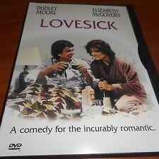 Lovesick (DVD, Full Frame 1998) Dudley Moore,Elizabeth McGovern Used