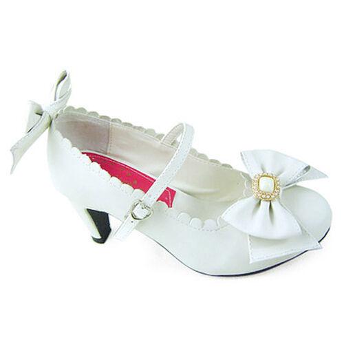 Sweet Lolita Rokoko Barock Bow Damenschuhe Pumps Pumps Pumps Ballerinas Halbschuhe Kostüm c28fbe