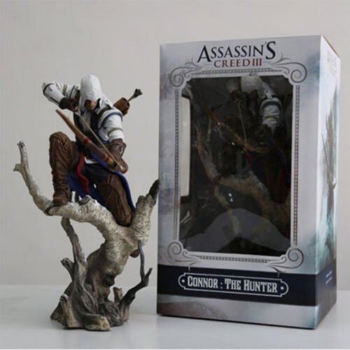 """Hot  10.2/"""" The assassins creed 3 Connor hunter PVC archery action figure model"""