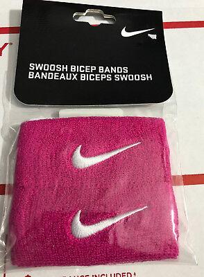 Weitere Ballsportarten Nike Dri Bekleidung Fit Fußball Swoosh Bicep Bänder Nfn22-639 Osfa Pink Bca