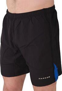 Dare2B-2-in-1-Mens-Running-Shorts-Black-Lightweight-Quick-Drying-Sports-Short