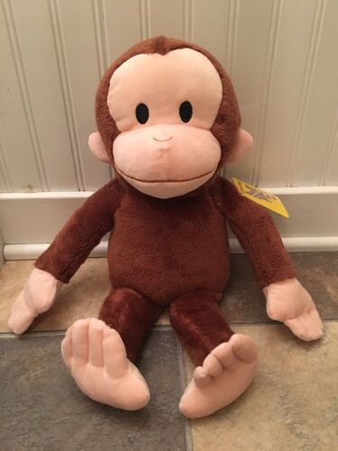 Kohls Cares For Kids Curious George Monkey Plush Toy New With Tag Stuffed Animal