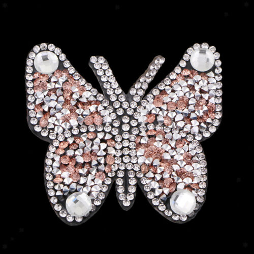 Beaded Patches for Clothes Sew on Sequin Rhinestone Embroidered Appliques