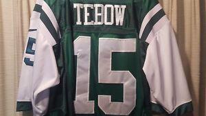 c020b87e9 RARE   New York Jets Tim Tebow NIKE NFL Football Jersey (52 XL ...