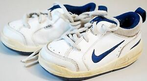 NIKE SNEAKERS SHOES TODDLER BABY BOYS SIZE 5C -Â WHITE ...