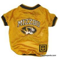 Mizzou Tigers Ncaa Dog Pet Mesh Sport Jersey (all Sizes)