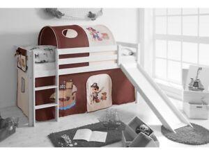 Spielbett Hochbett Kinderbett Kinder Bett 90x200 Cm