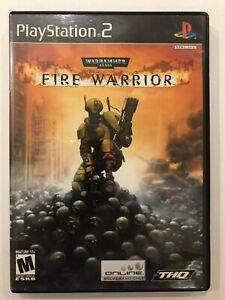 Warhammer-40-000-Fire-Warrior-Sony-Playstation-2-PS2-Complete-w-Case-amp-Manual