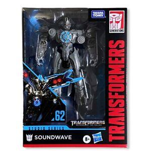 Transformers Studio Series Deluxe Class Action Figure Soundwave Hasbro 15 Cm