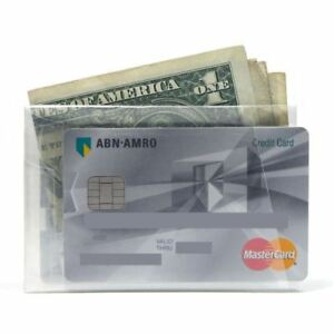 NEW The Walart Clear Card Paper Wallet