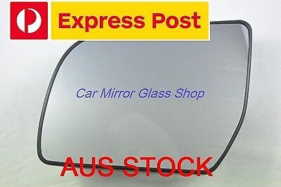 LEFT PASSENGER SIDE MAZDA BT-50 2012 ONWARD MIRROR GLASS WITH BACK PLATE