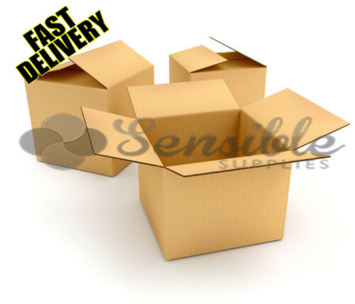 """18X12X10/"""" 100 x LARGE SIZE PACKAGING REMOVAL MOVING CARDBOARD BOXES SW"""