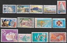FRANZ.POLYNESIEN 1958-72, 21 verschiedene Marken gestempelt, Mi. 130.- Euro