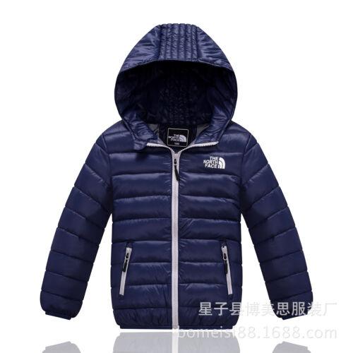 Winter Kid Boy Girl 90/% Duck Down Snowsuit Hoodies Warm Coat Jacket Top 3-12Y