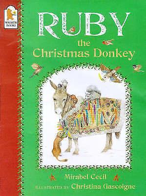 Ruby the Christmas Donkey-ExLibrary