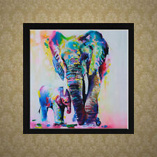 DIY 5D Diamond Embroidery Painting Cross Stitch Kit Elephant Animal Home Decor