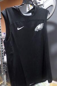 sale retailer 82bb4 538b9 Details about NIKE PRO HYPERCOOL MEN'S NFL PHILADELPHIA EAGLES FITTED  DRI-FIT SHIRT S3XL
