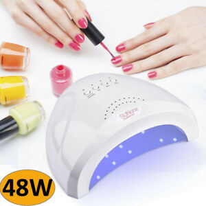 Professional-LED-UV-Nail-Dryer-Gel-Polish-Lamp-Light-Curing-Manicure-Machine-48W