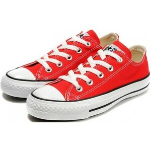 c378baa2573b Converse Chuck Taylor Star Red White Ox Top Skate Mens Womens Shoes ...