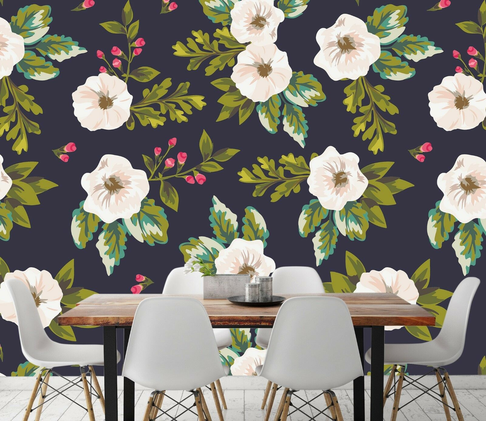 3D Flowers Painting 642 Wallpaper Murals Wall Print Wallpaper Mural AJ WALL UK
