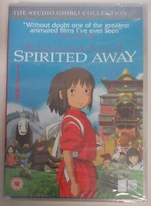 DVD - *New / Sealed* Spirited Away DVD 2004 Hayao Miyazaki Cert PG PAL R2 UK