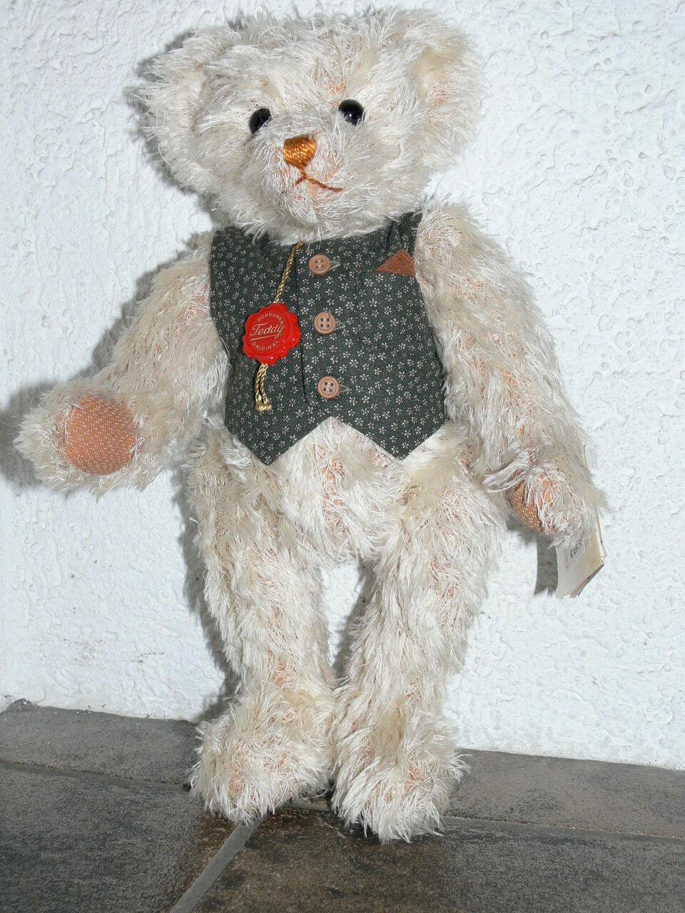 Teddy-Hermann - Bär John - hellbraun - 40 cm - limitiert - Nr. 206 von 1000 -