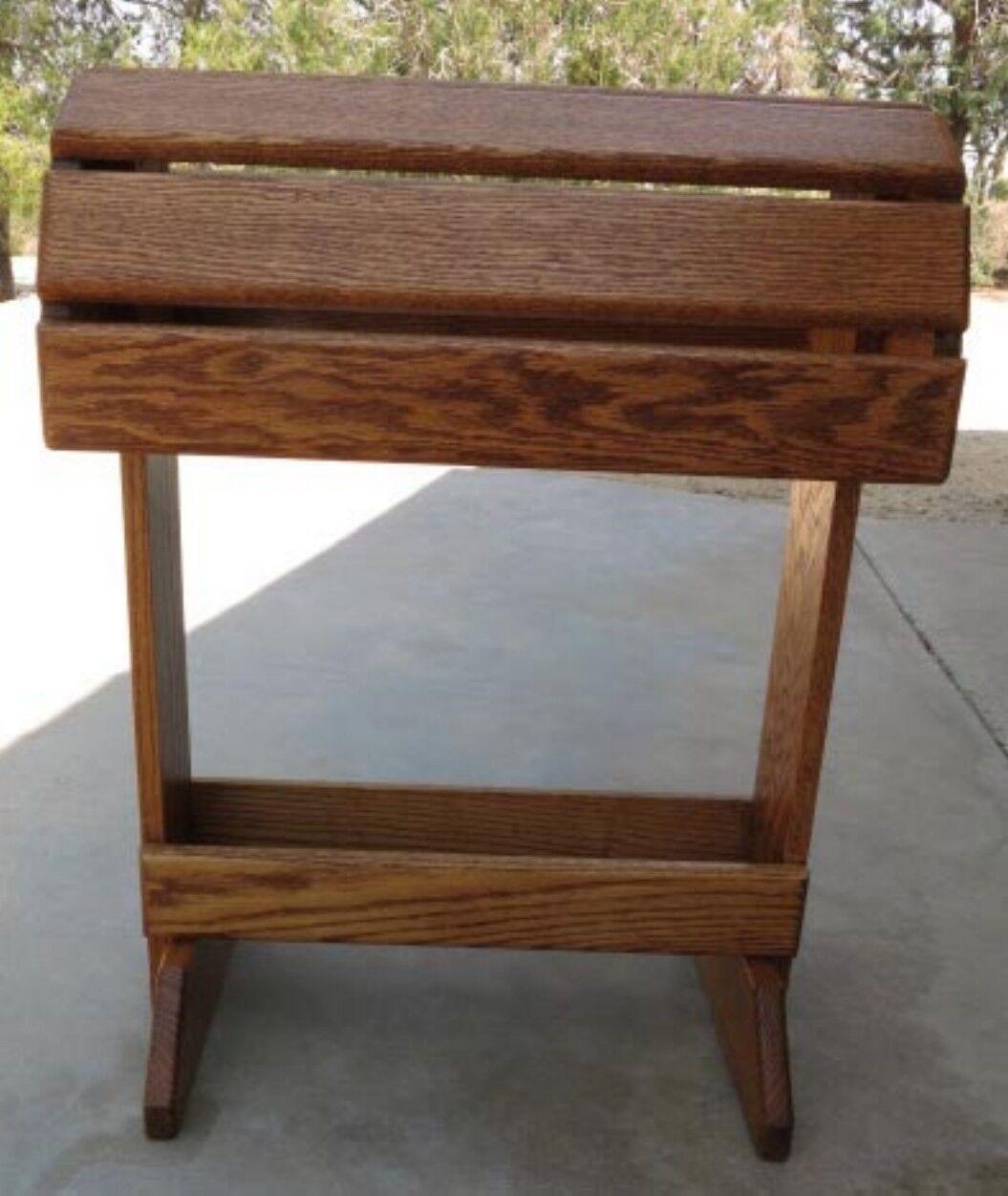 Árbol de sillín de Roble Macizo Personalizado