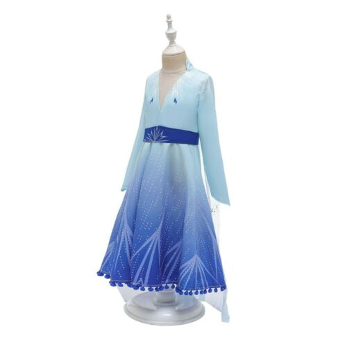 NEU Frozen 2 new Elsa skirt children/'s skirt party school performance Cosplay