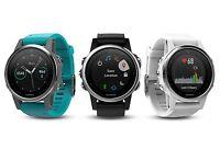 Garmin Fenix 5s 42mm Premium Gps/glonass Multisport Running Watch W/ Heart Rate