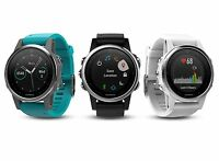 Garmin Fenix 5s 42mm Premium Gps/glonass Multisport Running Watch W/ Heart Rate