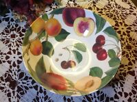 Williams Sonoma Botanical Fruit 10.5 Melamine Salad Serving Bowl