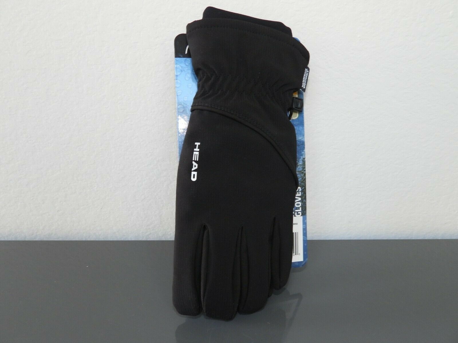HEAD Men's Sensatec Waterproof Hybrid Gloves Black - Small