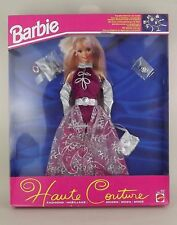 1993 Barbie Doll Fashion Haute Couture Outfit 10770 Silver Plum Dress NOS NRFB