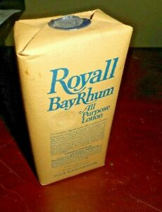 """ROYALL BAYRHUM AFTER SHAVE/BODY COLOGNE LOTION 4 OUNCES UNOPENED NOS """"RARE"""""""