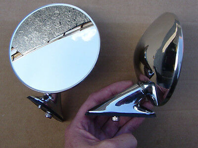 Porsche 356 /& Early 911 Racing Mirrors Pair New!