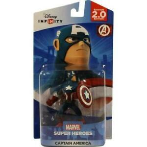 Disney Infinity: Marvel Super Heroes 2.0 Captain America Wii U Xbox PS3 NEW MOC