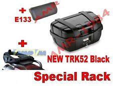 MALETA TRONCO TRK52B BLACK + MARCO SR6403 TRIUMPH TIGRE EXPLORER 1200 + E133S