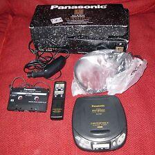 Panasonic Portable Car CD Player XBS MASH ANTI SHOCK Memory SL-S491C Auto