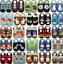 Indexbild 1 - Hausschuhe Krabbelpuschen Leder kinder Krabbelschuhe Lederpuschen Minishoezoo