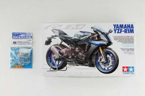 Tamiya 14133 112 Motorcycle Model Kit Yamaha YZFR1M w12684 Front Fork Set