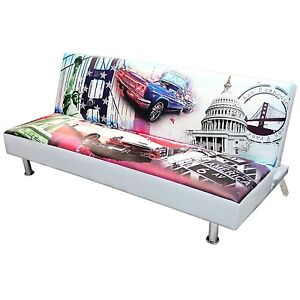 schlafsofa g stebett bettsofa schlafcouch f r jugendzimmer usa ebay. Black Bedroom Furniture Sets. Home Design Ideas