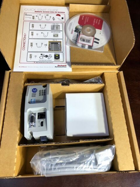 Allen-Bradley: 9300-RAPMKIT Remote Access Paging Modem Kit - New/Never Used!