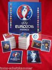 Panini Euro 2016 Star Edition Schweiz Satz komplett + Album 680 Sticker EM 16