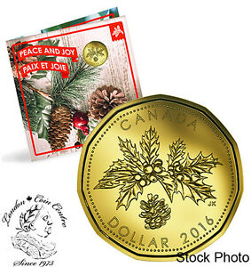 Canada 2016 OH Canada Gift Coin Set with Special Maple Leaf Loonie