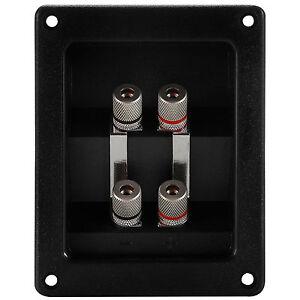 """N3K5 Speaker Round Cup 2-Terminal Binding Post Board 3/"""" Diameter"""