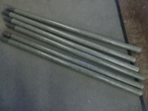 4' FOOT FIBERGLASS ANTENNA TOWER MAST SECTIONS POLE POLES USED VERY GOOD 25 pc.