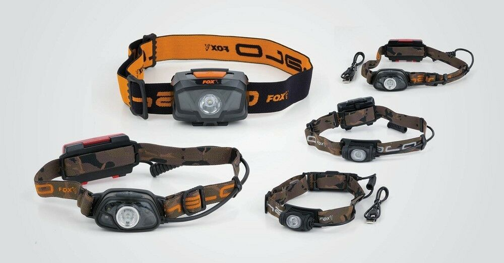 FOX HALO HEADTORCH   HEAD TORCH - THE ENTIRE RANGE AVAILABLE